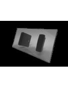 Accessoires Liquid Chrystal Plateau verre Liquid Crystal 10''