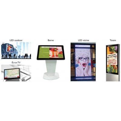 Les solutions numériques Affichage dynamique
