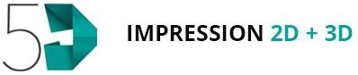 5D Impression 2D + 3D